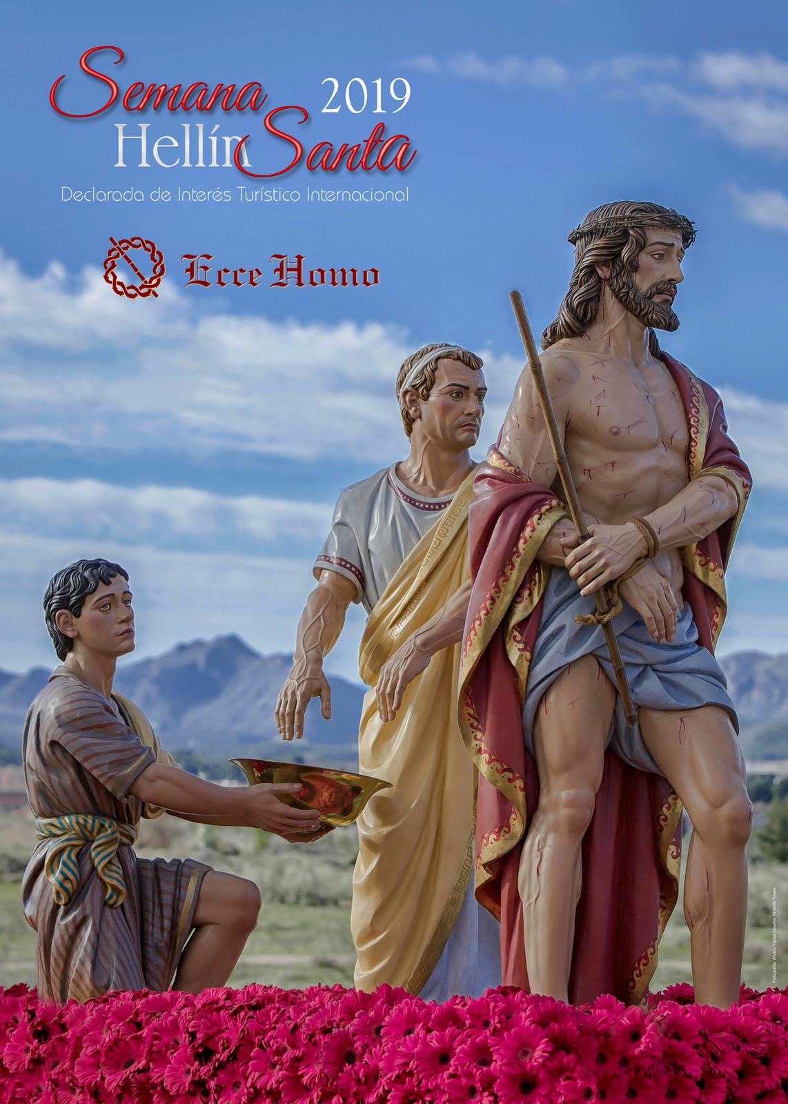 Cartel Semana Santa Hellín 2019 - Cofradía Ecce Homo